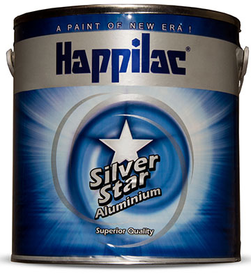 Silver Star Aluminium Paint | Happilac Paints Pakistan